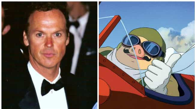 Michael Keaton is listed (or ranked) 7 on the list 18 Times American Celebrities Lent Their Voice To Anime