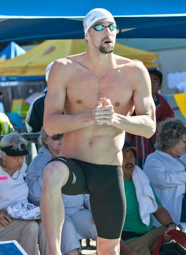 Michael Phelps is listed (or ranked) 1 on the list Athletes Who Were Drug Addicts