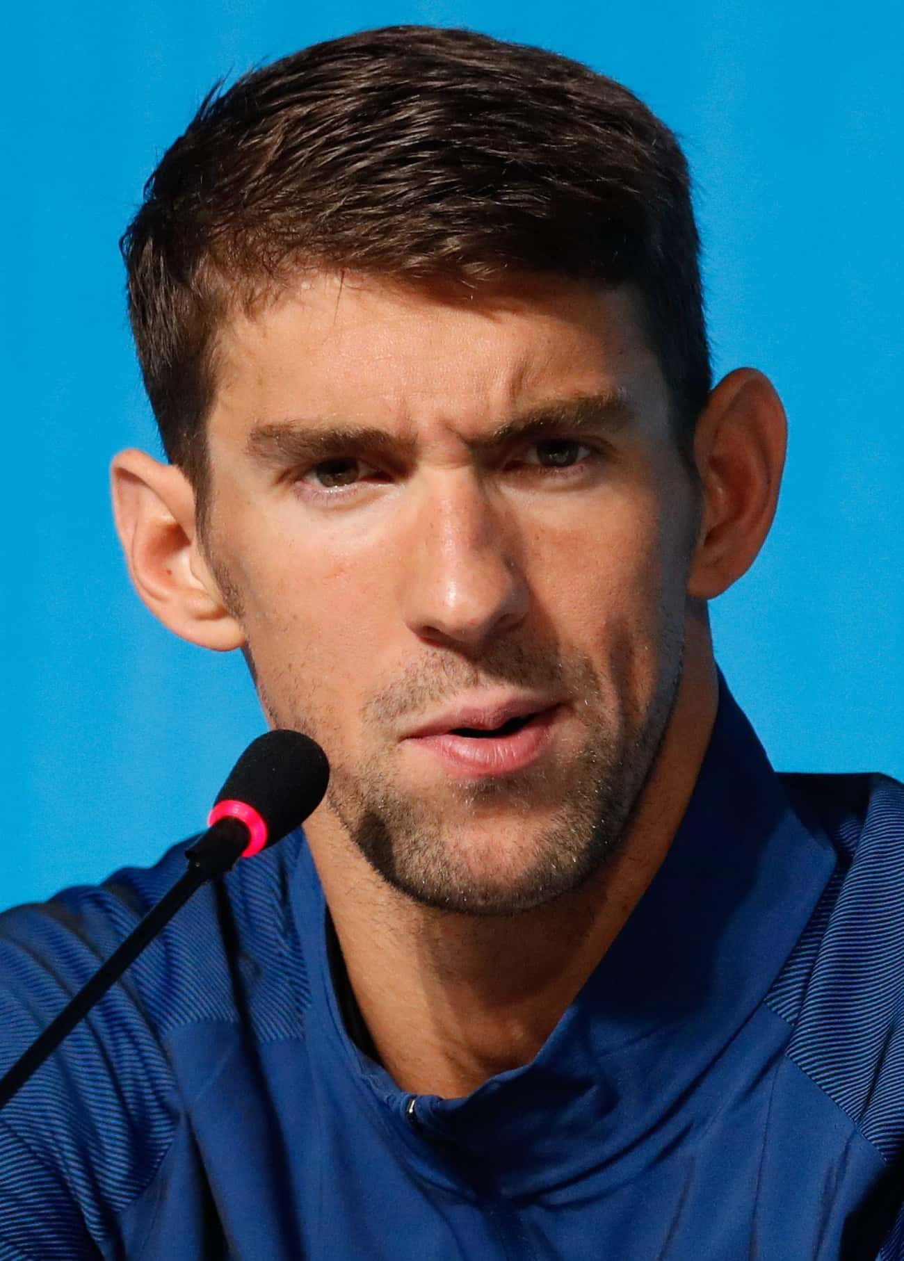 Michael Phelps is listed (or ranked) 2 on the list Famous People With Lisps