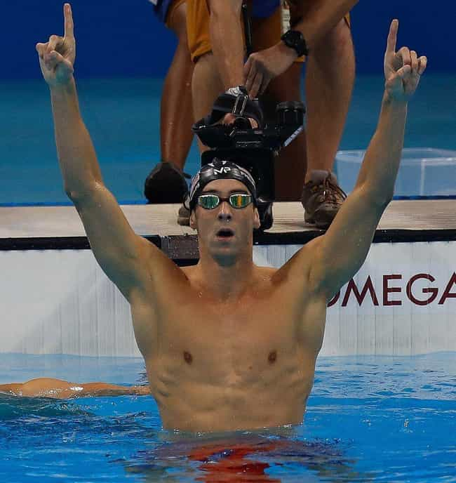 Michael Phelps is listed (or ranked) 2 on the list 6 Athletes Who Were Bullied