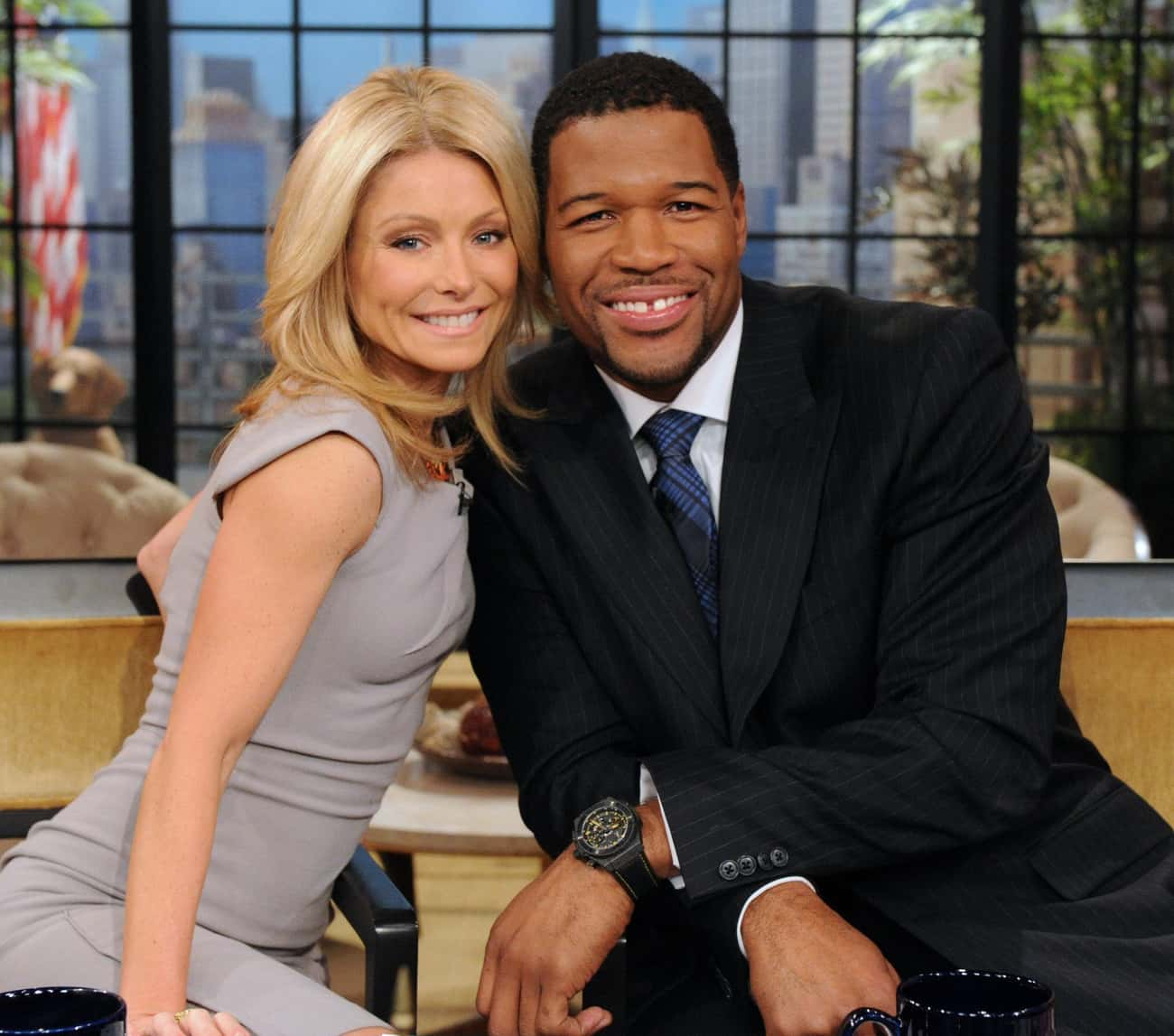 Michael Strahan is listed (or ranked) 3 on the list Famous Friends of Kelly Ripa