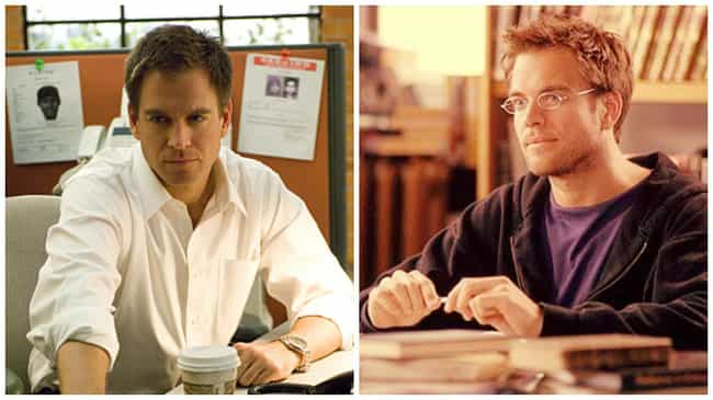 Michael Weatherly is listed (or ranked) 2 on the list 21 Times You've Seen the NCIS Actors Before