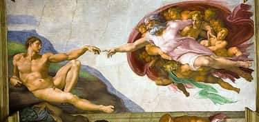 Michelangelo is listed (or ranked) 1 on the list The Greatest Painters Of All Time