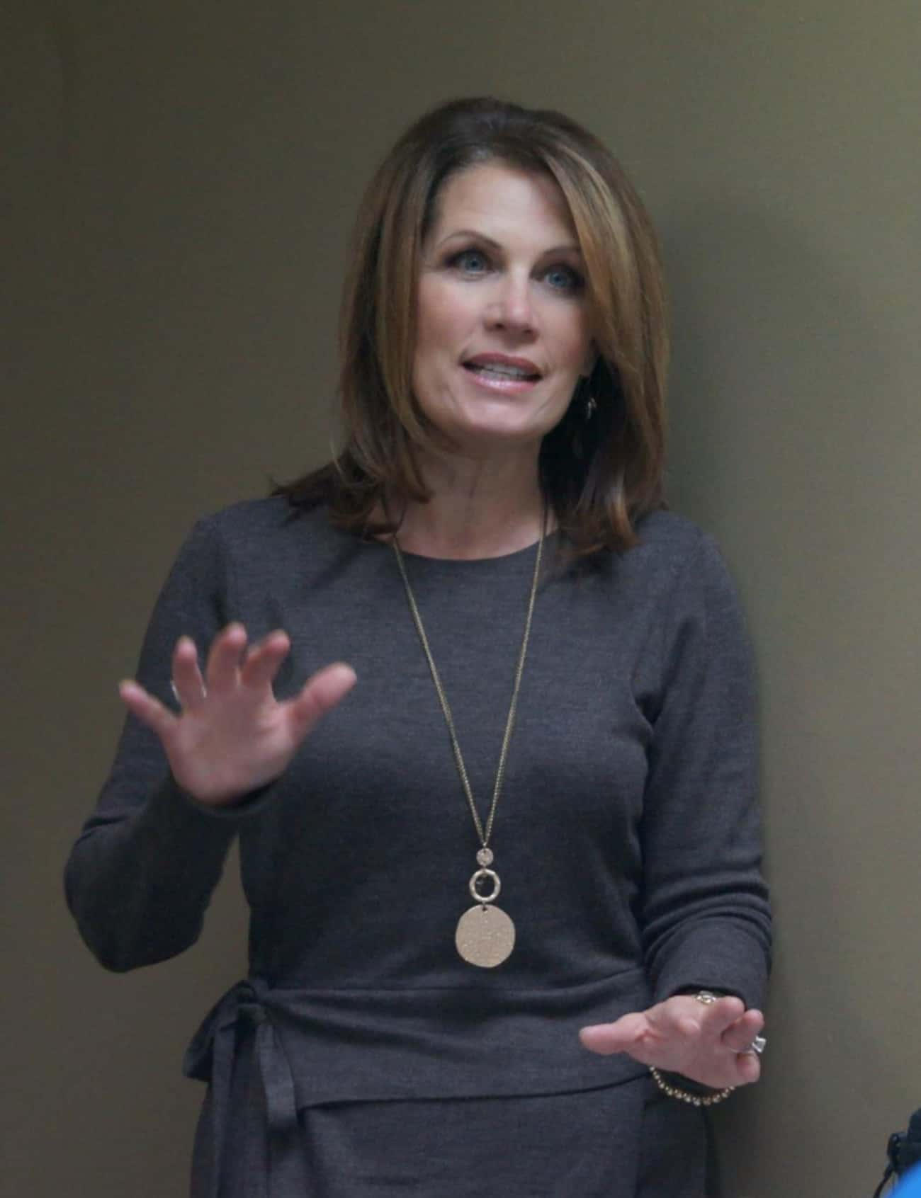 Michele Bachmann is listed (or ranked) 2 on the list 12 Anti-Gay Politicians with LGBTQ+ Relatives