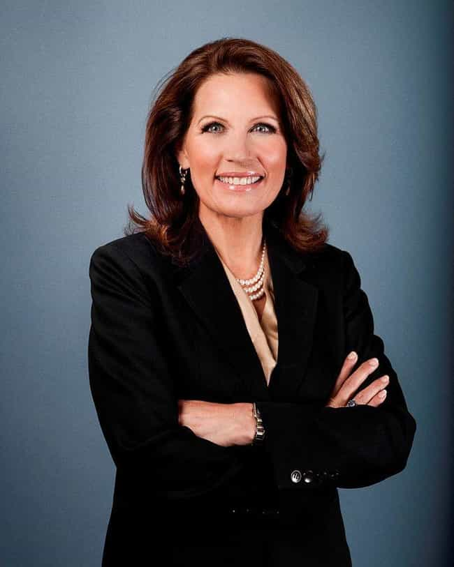 Michele Bachmann is listed (or ranked) 3 on the list The Most Anti-Gay US Politicians