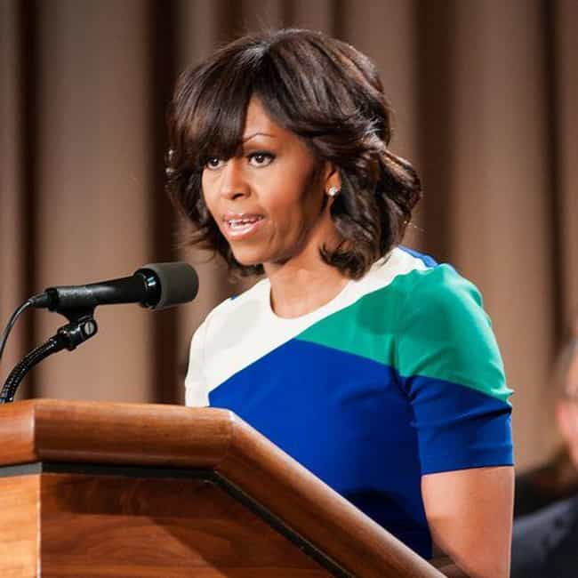 Michelle Obama is listed (or ranked) 3 on the list Celebrities With Student Loan Debt