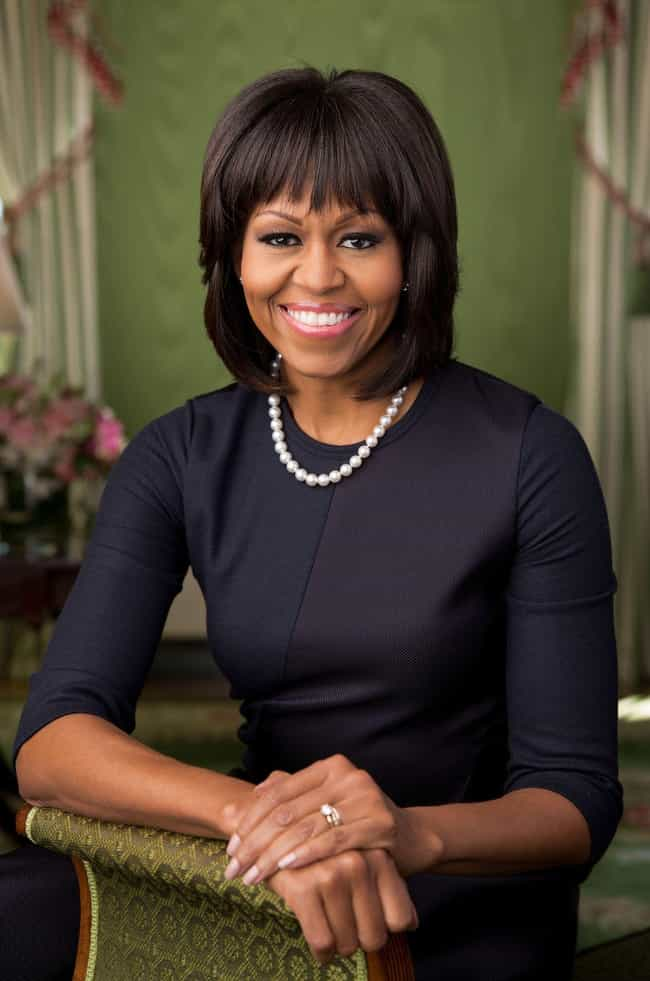 Michelle Obama is listed (or ranked) 5 on the list 40+ Celebrities Reveal Their Favorite Books