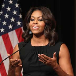 Michelle Obama is listed (or ranked) 10 on the list Celebrities Who Would Help You Out In A Pinch