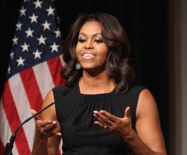 Michelle Obama is listed (or ranked) 1 on the list Female Celebrities Who Are 5'11""
