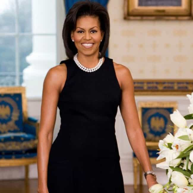 Michelle Obama is listed (or ranked) 3 on the list Famous Women Who Are Way Taller Than You Already Thought