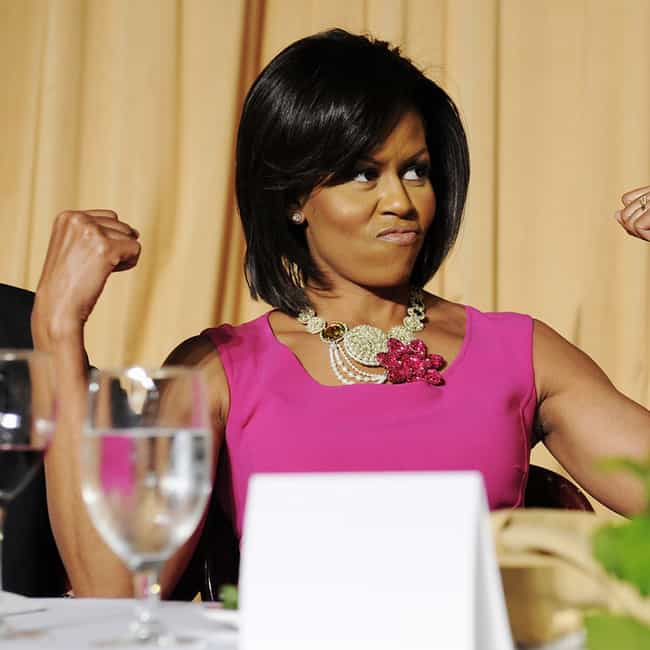 Michelle Obama is listed (or ranked) 4 on the list Dream Running Mates Hillary Should Consider