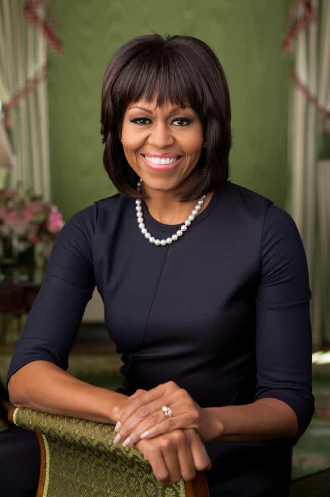 Michelle Obama is listed (or ranked) 2 on the list Larry Flynt's Ranking of the Hottest US First Ladies