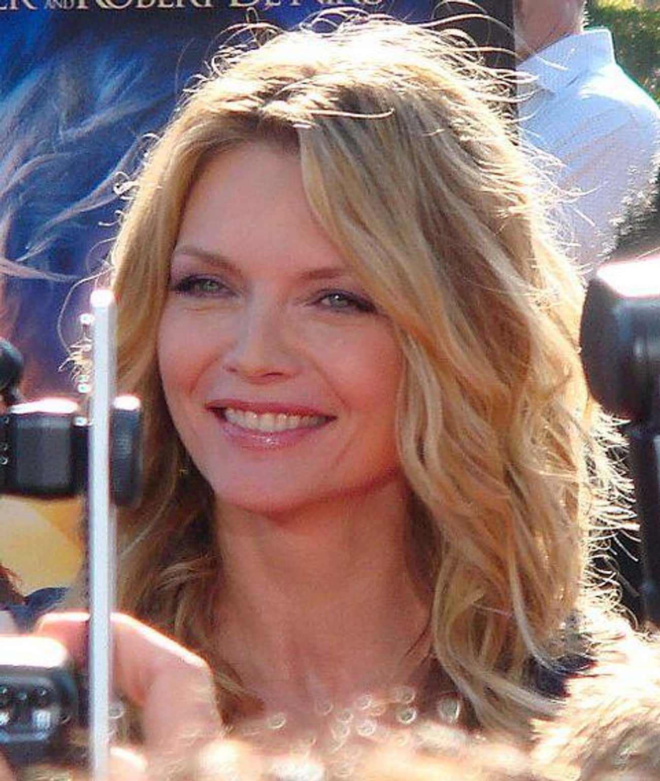 Michelle Pfeiffer is listed (or ranked) 3 on the list Celebrities Who Worked at Disney Parks