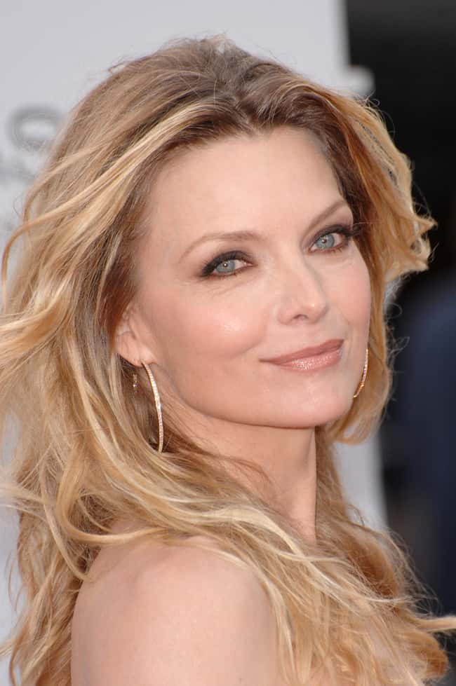 Michelle Pfeiffer is listed (or ranked) 53 on the list The Most Captivating Celebrity Eyes (Women)