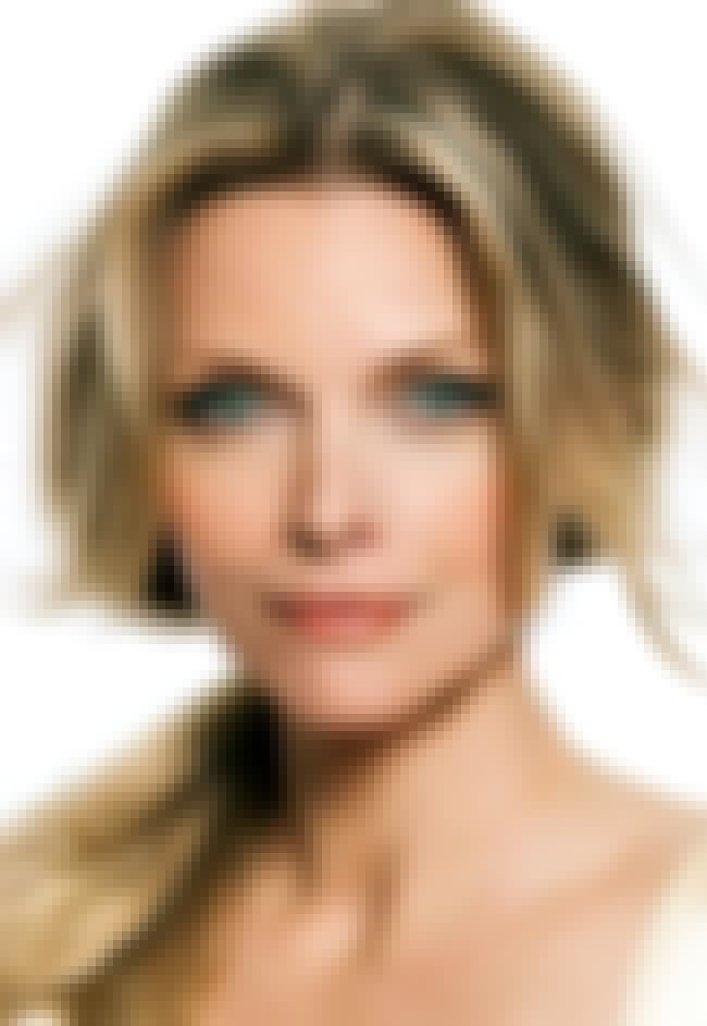 Michelle Pfeiffer is listed (or ranked) 3 on the list The Most Captivating Celebrity Eyes (Women)