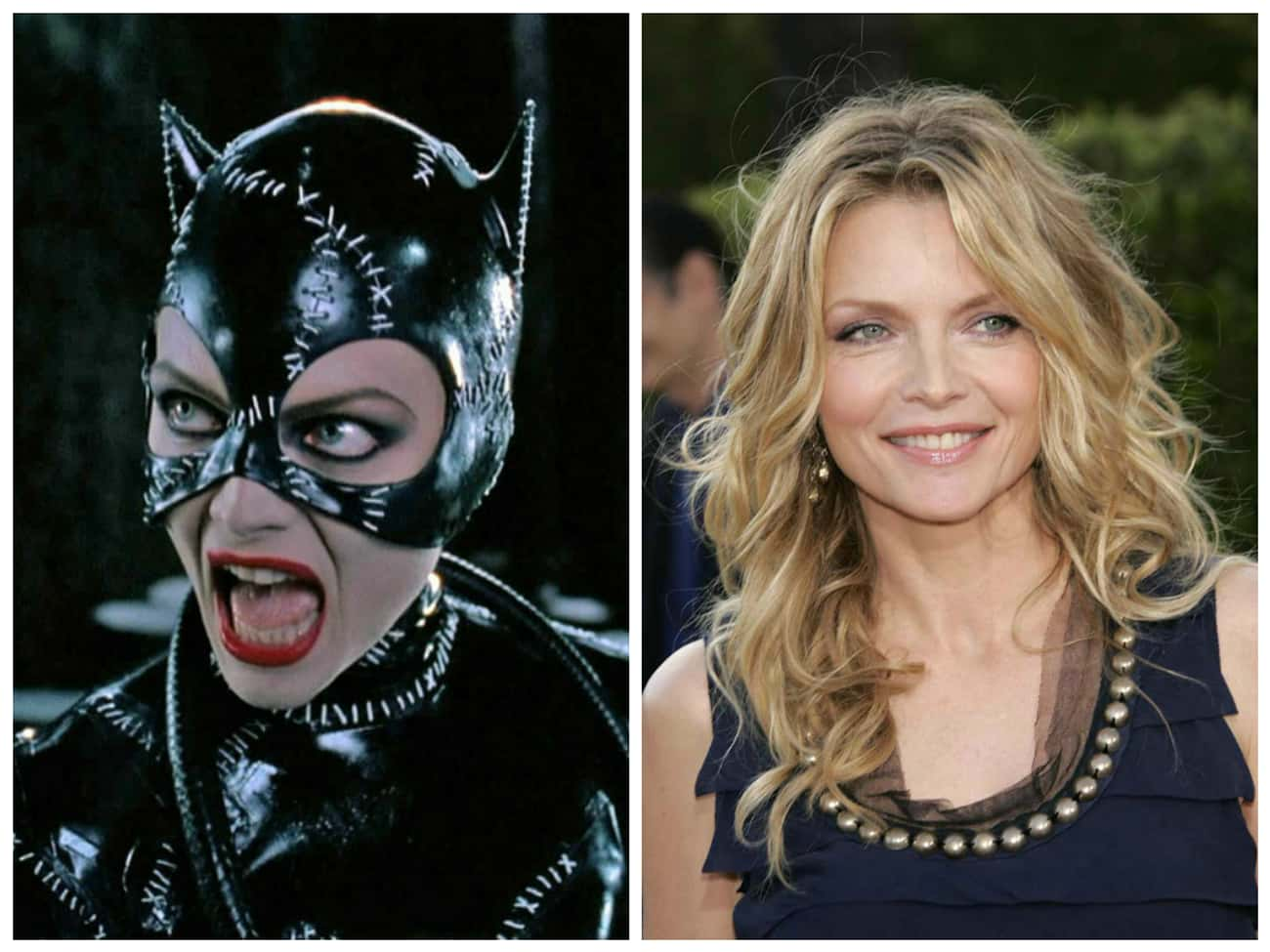 Michelle Pfeiffer is listed (or ranked) 3 on the list Where Are They Now? 30 Actors from Comic Book Movies