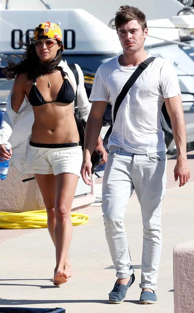 Michelle Rodriguez is listed (or ranked) 4 on the list Famous Friends of Zac Efron