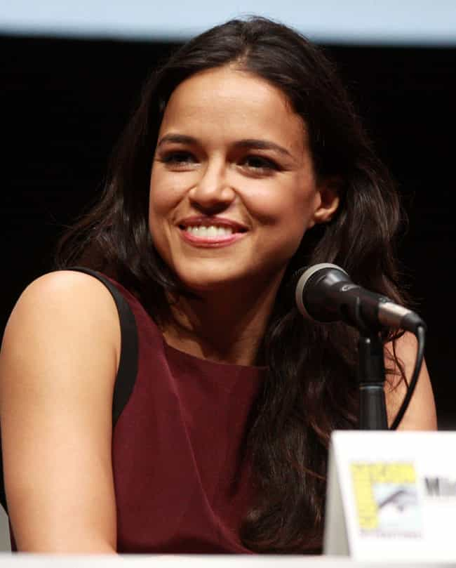Michelle Rodriguez is listed (or ranked) 3 on the list Zac Efron Loves and