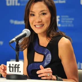 Michelle Yeoh is listed (or ranked) 4 on the list The Biggest Asian Actors In Hollywood Right Now