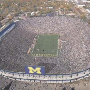 Michigan Stadium is listed (or ranked) 14 on the list The Best College Football Stadiums