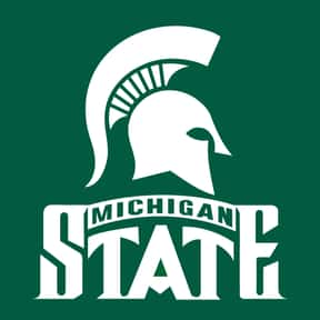 Michigan State University is listed (or ranked) 1 on the list Spartan Mascot School List