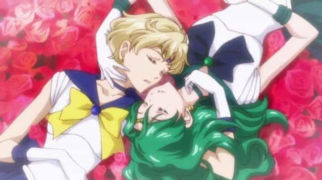Sailor Neptune is listed (or ranked) 3 on the list The 14 Greatest LGBTQ+ Romances In Anime