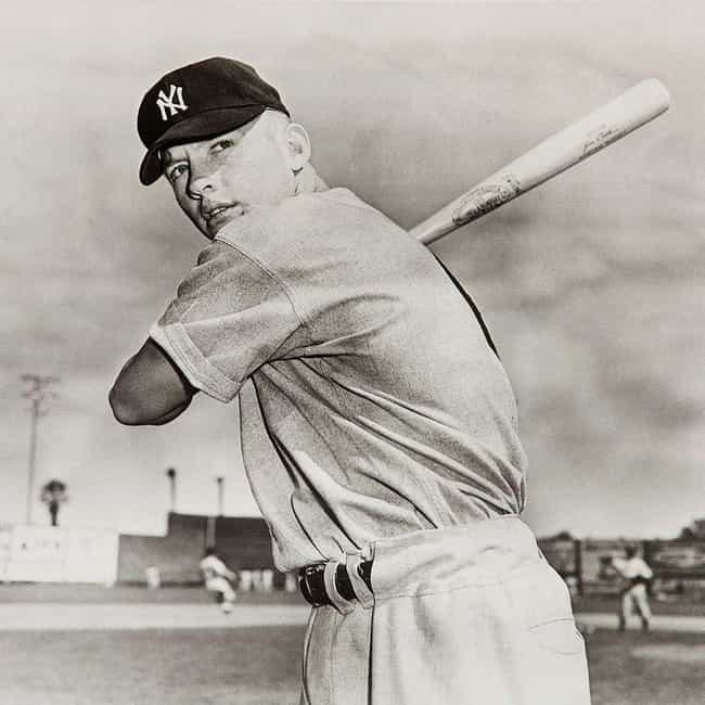 Mickey Mantle is listed (or ranked) 1 on the list The Best Athletes Who Wore #7