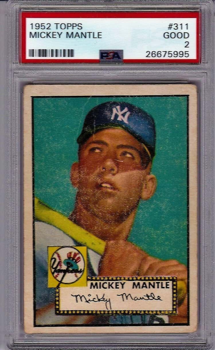 1952 Mickey Mantle (Topps)