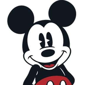 Mickey Mouse is listed (or ranked) 7 on the list The Greatest Cartoon Characters in TV History