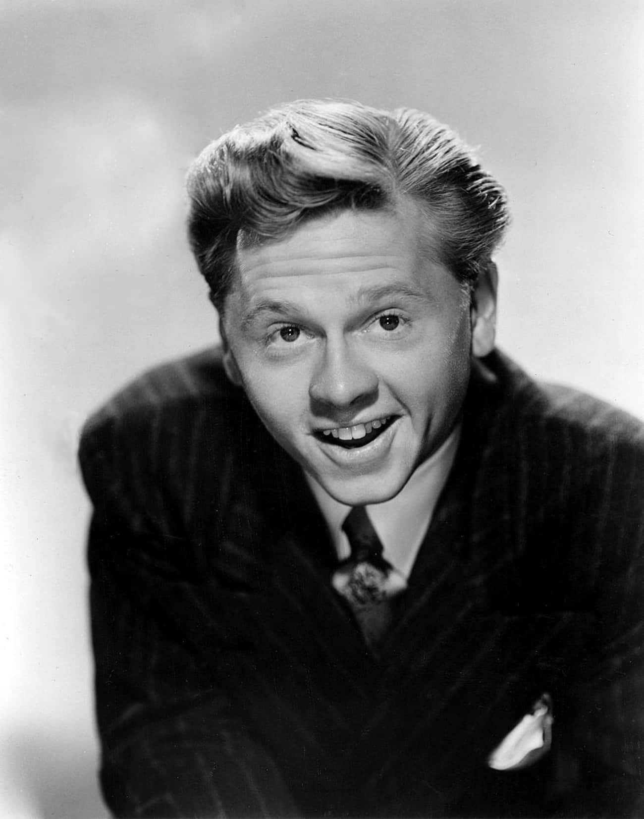 Mickey Rooney - 8 Marriages is listed (or ranked) 4 on the list Celebrities Who Have Been Married 4 (or More!) Times