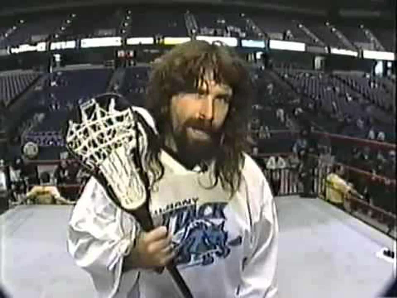 Mick Foley is listed (or ranked) 3 on the list 25 Celebrities Who Played Lacrosse in School