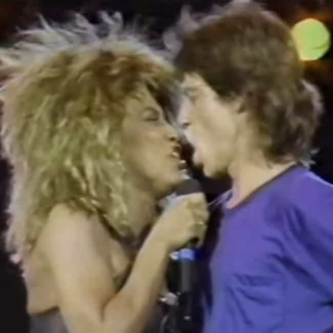 Mick Jagger is listed (or ranked) 3 on the list Every Man Tina Turner Has Dated