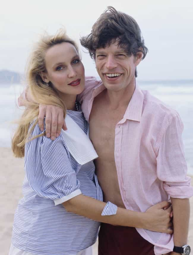 Mick Jagger is listed (or ranked) 1 on the list 26 Rock Stars Who Married Supermodels