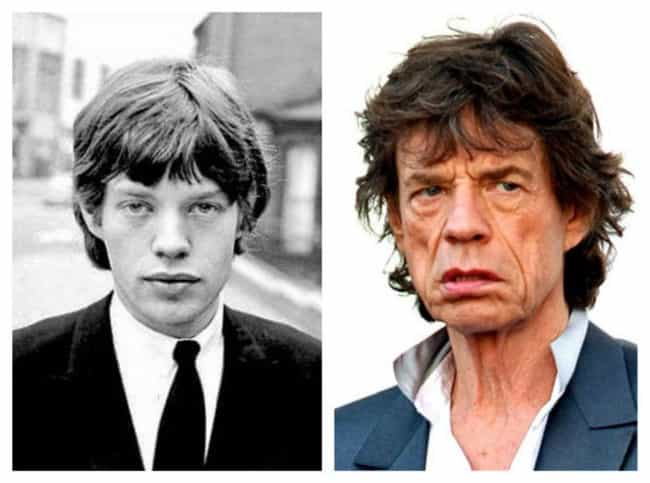 Mick Jagger is listed (or ranked) 3 on the list The Rock Stars Who Have Aged the Worst