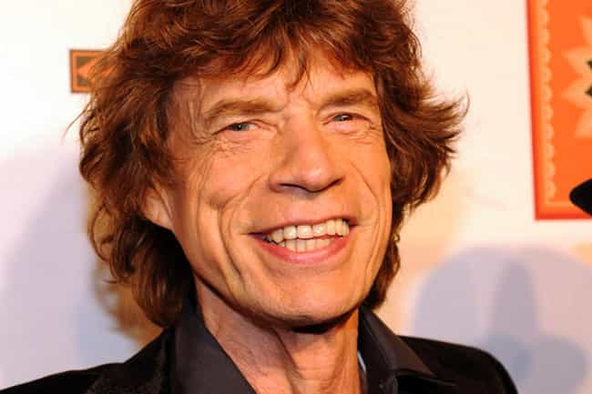 Mick Jagger is listed (or ranked) 10 on the list Janice Dickinson's Loves &