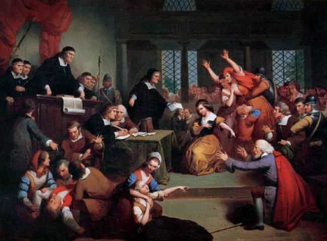 Salem Witch Trials is listed (or ranked) 1 on the list The Secret Role That a Crazy Hallucinogenic Fungus Played in History