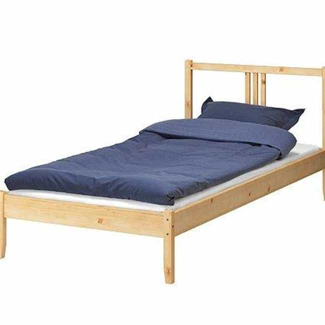 Bed is listed (or ranked) 4 on the list Types of Beds