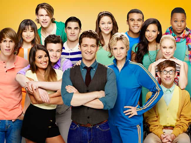 Glee is listed (or ranked) 7 on the list TV Casts That Still Hang Out Even Though Their Shows Ended