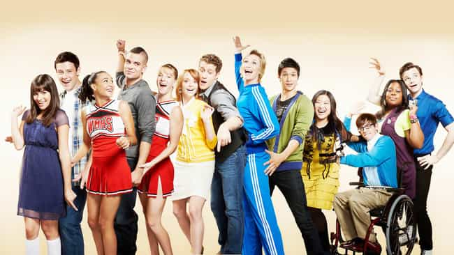 Glee is listed (or ranked) 1 on the list TV Shows That Progressively Got Worse