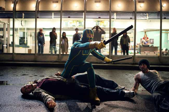 Kick-Ass is listed (or ranked) 4 on the list The Best Live-Action Comic Book Adaptations Of The Decade Not From Marvel Or DC, Ranked