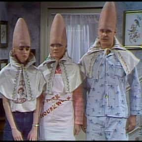 The Coneheads is listed (or ranked) 24 on the list The Best Alien Characters of All Time