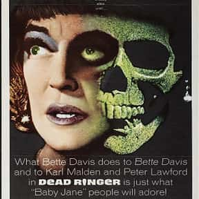 Dead Ringer is listed (or ranked) 17 on the list The Best Bette Davis Movies