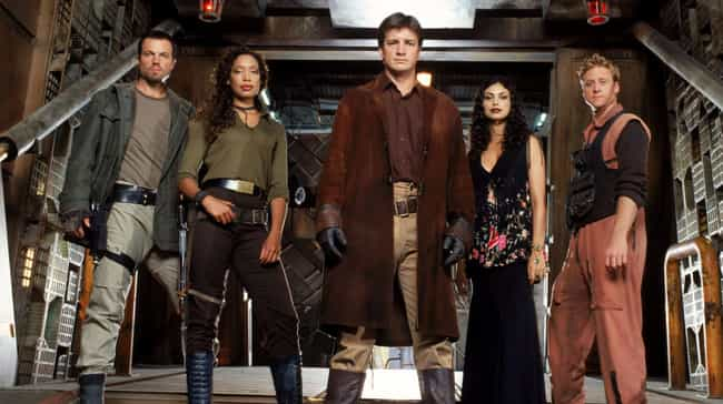 Firefly is listed (or ranked) 2 on the list Here's How Your Favorite Canceled TV Shows Were Really Supposed To End