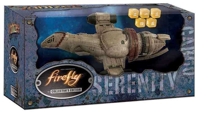 Firefly is listed (or ranked) 4 on the list The Best Editions of Yahtzee