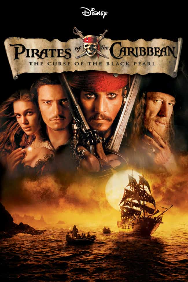 Pirates of the Caribbean... is listed (or ranked) 4 on the list 21 Films Accused of Copyright Infringement