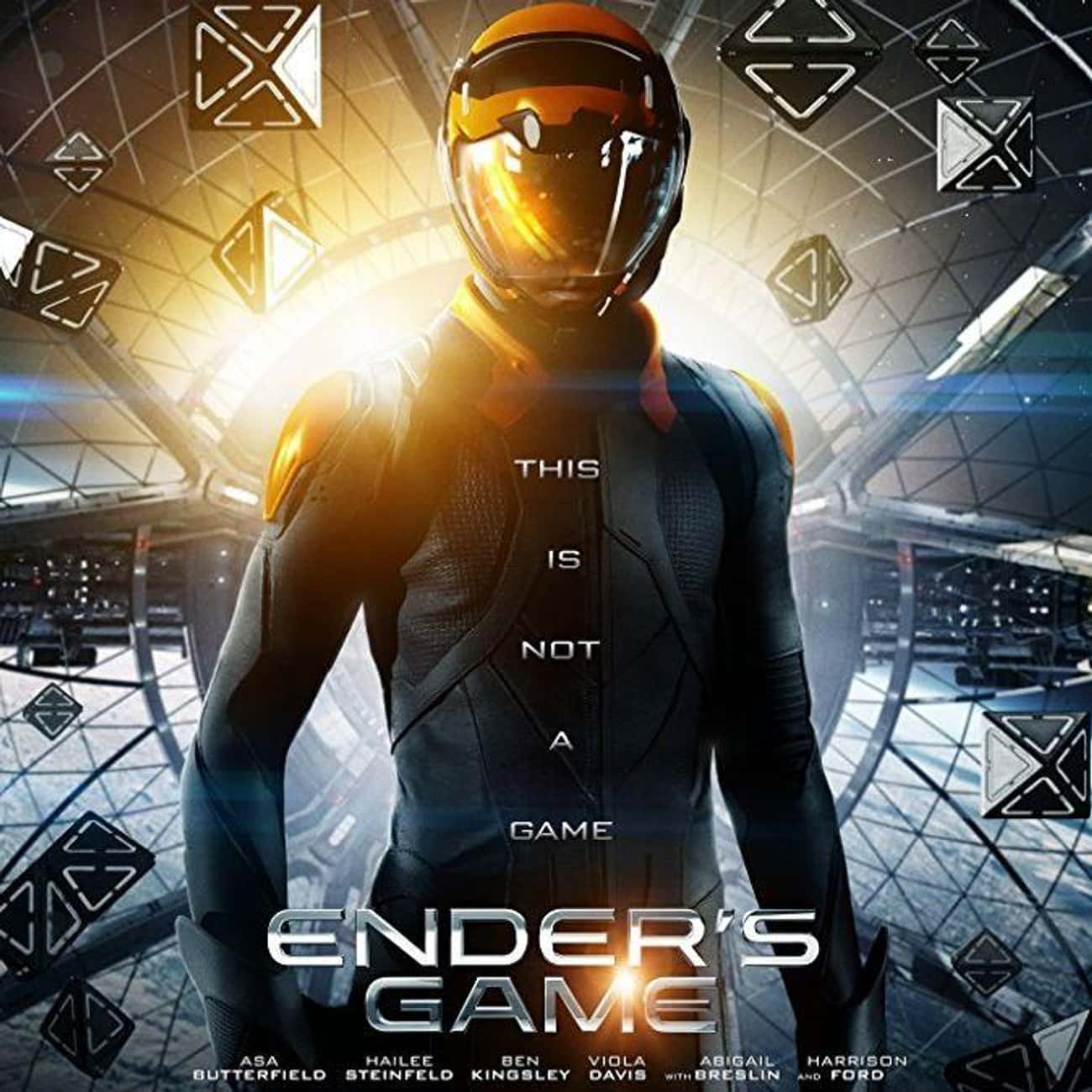 Ender's Game is listed (or ranked) 4 on the list What to Watch If You Love Ready Player One