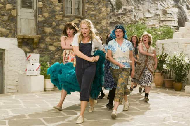 Mamma Mia! is listed (or ranked) 8 on the list Pretty Good Movies On Netflix To Watch After A Breakup