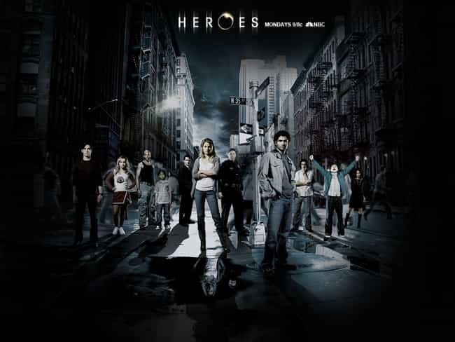 Heroes is listed (or ranked) 2 on the list TV Shows That Progressively Got Worse