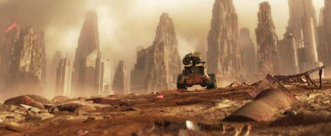 WALL-E is listed (or ranked) 2 on the list 15 Dystopian Movies That Sound Way Better Than America in 2016