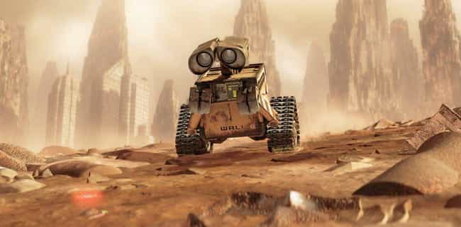 WALL-E is listed (or ranked) 4 on the list Which Post-Apocalyptic World Would You Survive Based On Your Zodiac Sign?